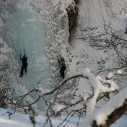 Klettern im Eis
